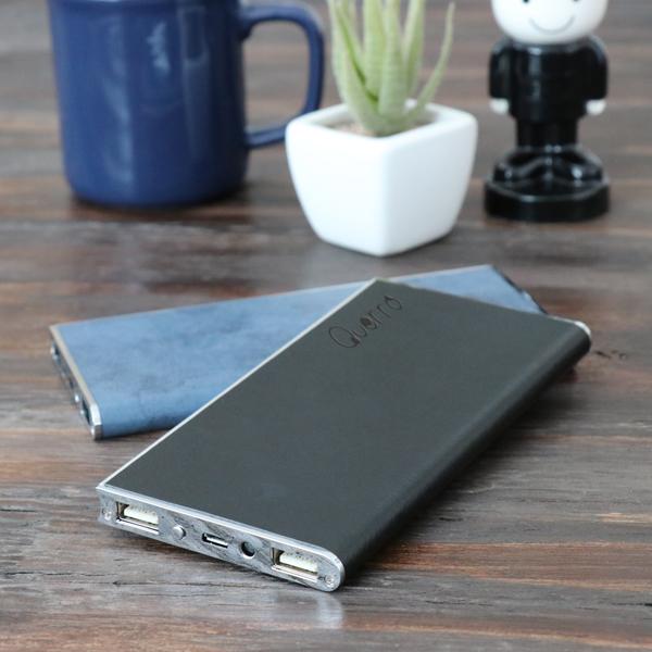 【Querro-クエロ-】モバイルバッテリー6000mAh