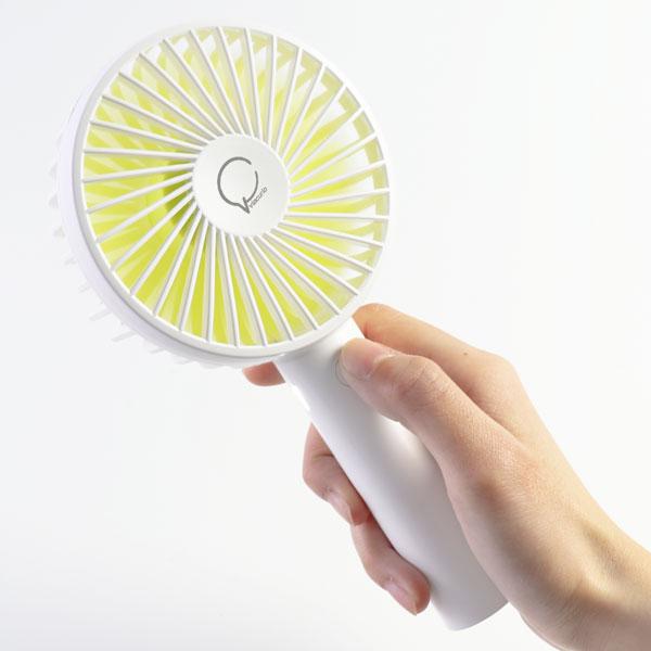 2WAYハンディ扇風機(スタンド付き) 3R-FAN01