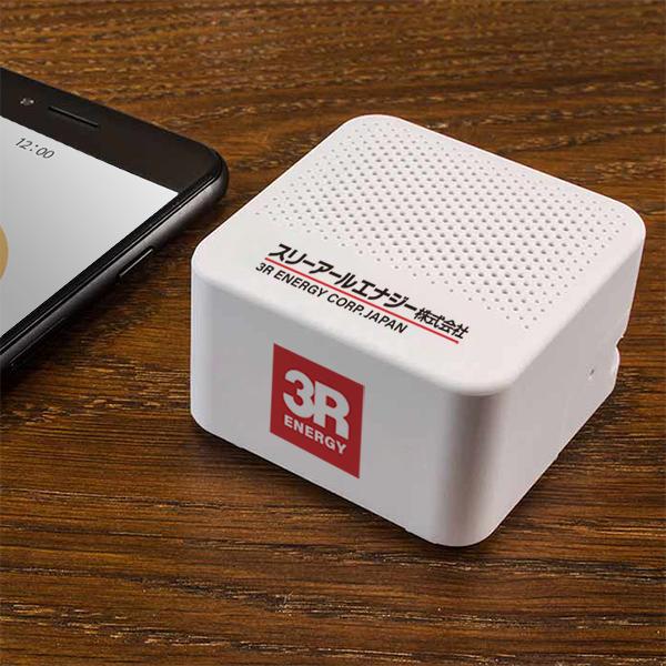 Bluetooth対応スクエアスピーカー3R-FSP02