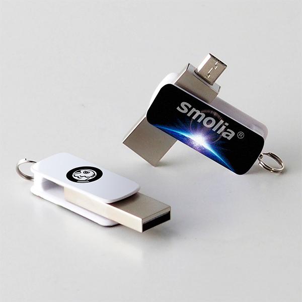 スマホ対応USBメモリ USBFM-SP1