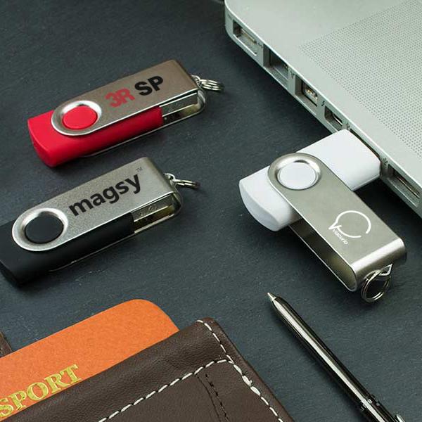 回転式USBメモリ USBFM-020