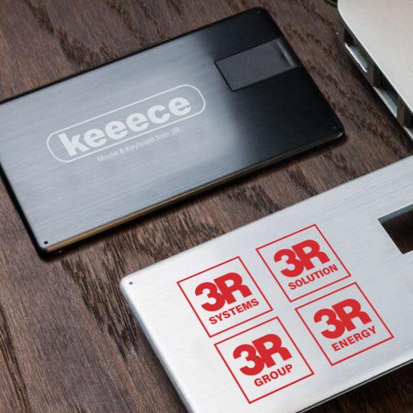 カード型メタリックUSBメモリ USBFM-ALLOY