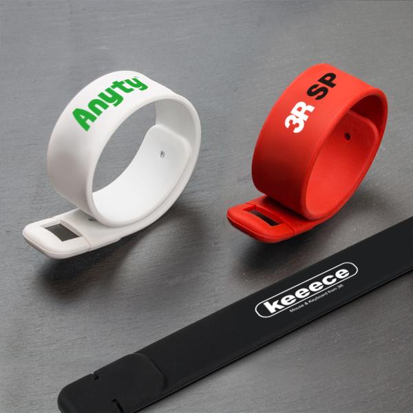 シリコンバンドUSBメモリ USBFM-BAND