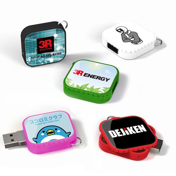 スクエアUSBメモリ USBFM-TRIX